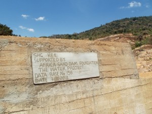The Water Project : kenya4299-19-dam-complete-in-kee