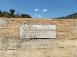 The Water Project : kenya4299-20-dam-complete-in-kee