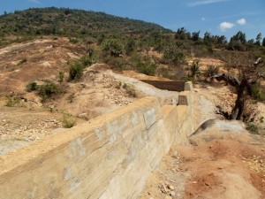 The Water Project : kenya4299-22-dam-complete-in-kee
