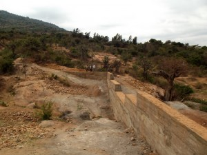 The Water Project : kenya4299-24-dam-complete-in-kee