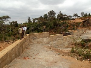 The Water Project : kenya4299-30-dam-complete-in-kee