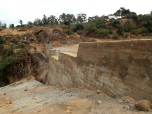 The Water Project : kenya4299-31-dam-complete-in-kee