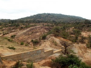 The Water Project : kenya4299-32-dam-complete-in-kee
