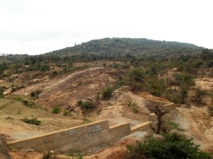 The Water Project : kenya4299-33-dam-complete-in-kee