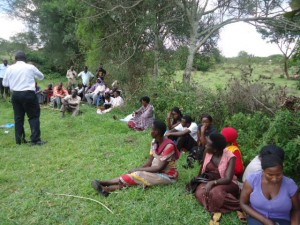 The Water Project : uganda6056-06-community-sensitization