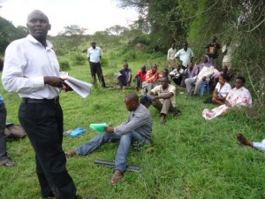The Water Project : uganda6056-23-hp-baseline-feedback-meeting