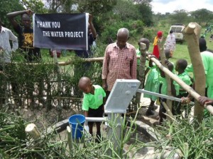 The Water Project : uganda6056-36-some-one-with-clean-water