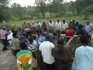 The Water Project : uganda6057-23-community-mobilization-meeting