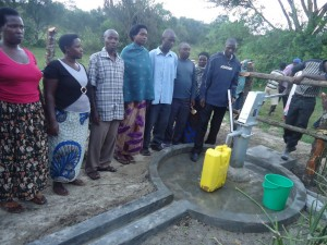 The Water Project : uganda6057-72-water-user-committee