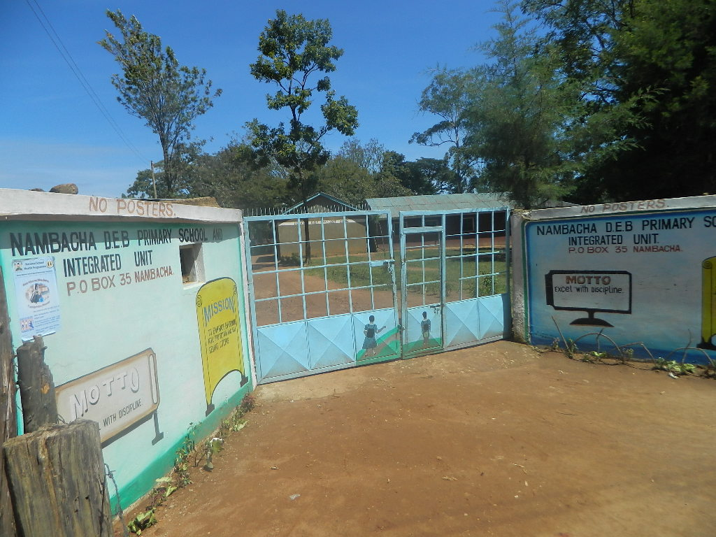 The Water Project : kenya4266-08-nambacha-primary-and-secondary-school