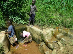 The Water Project : kenya4281-02-imulama-dispensary-current-water-source