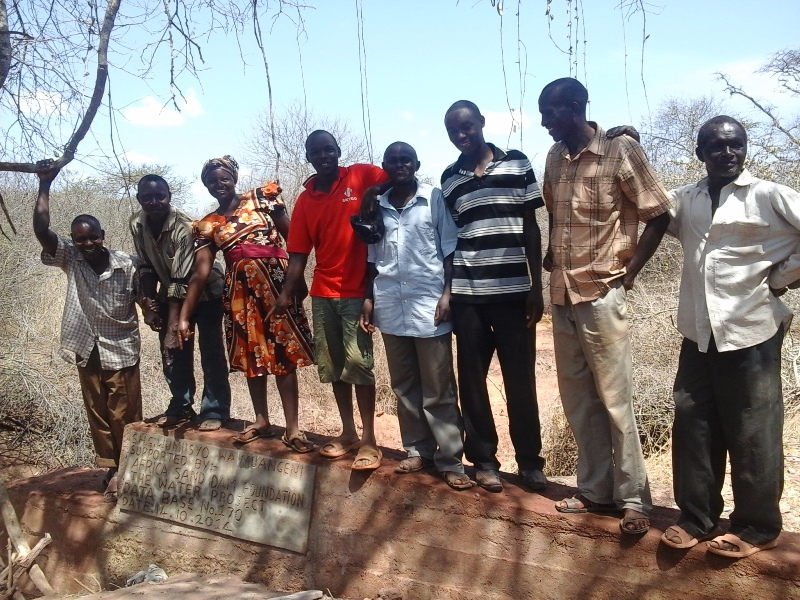 The Water Project : kenya4309-26-dam-complete