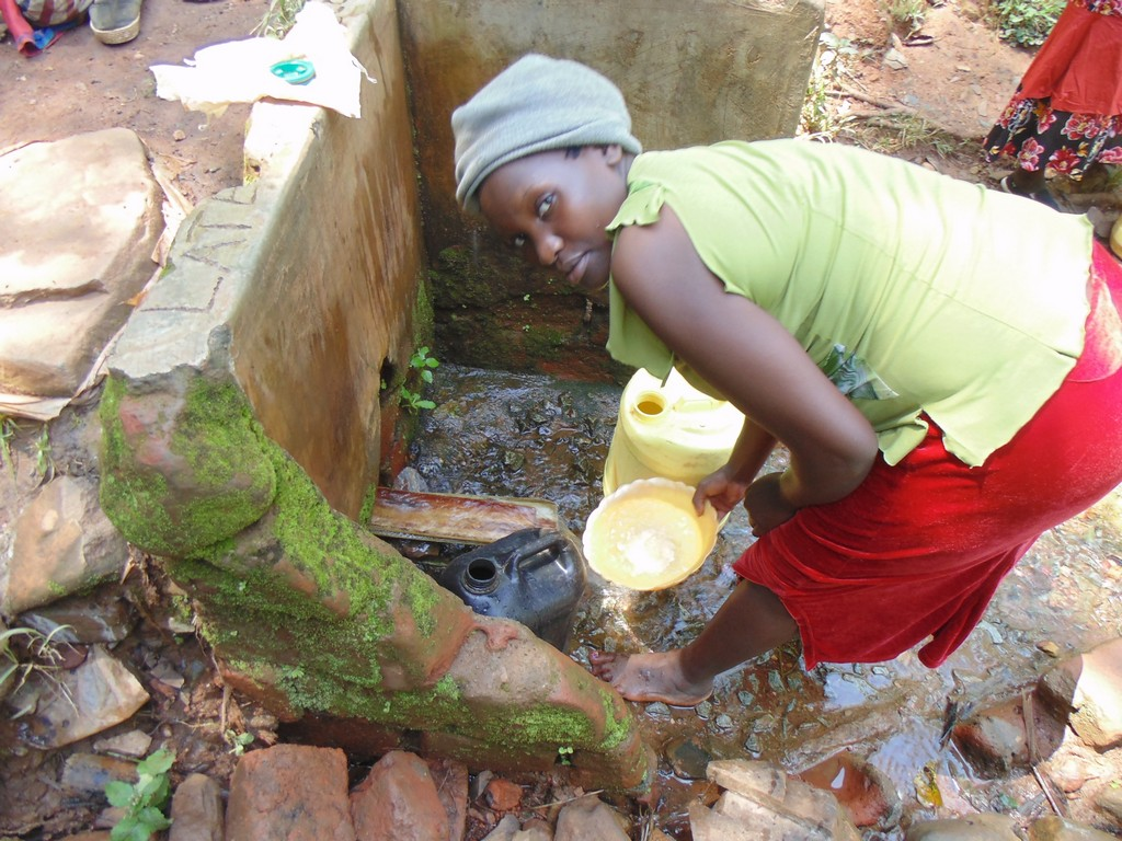The Water Project : kenya4317-02-navakholo-current-water-source-2