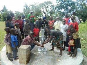 The Water Project : kenya4317-28-navakholo-community-joyous-to-get-clean-en-safe-water