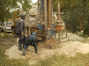The Water Project : uganda6058-21-akabereera-drilling