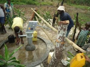 The Water Project : uganda6059-37-caretaker