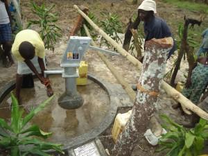 The Water Project : uganda6059-38-caretaker