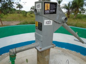 The Water Project : sierraleone5059-04-plaque-on-the-pump
