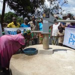 The Water Project: Kalie Town Crossing Well Rehabilitation Project -