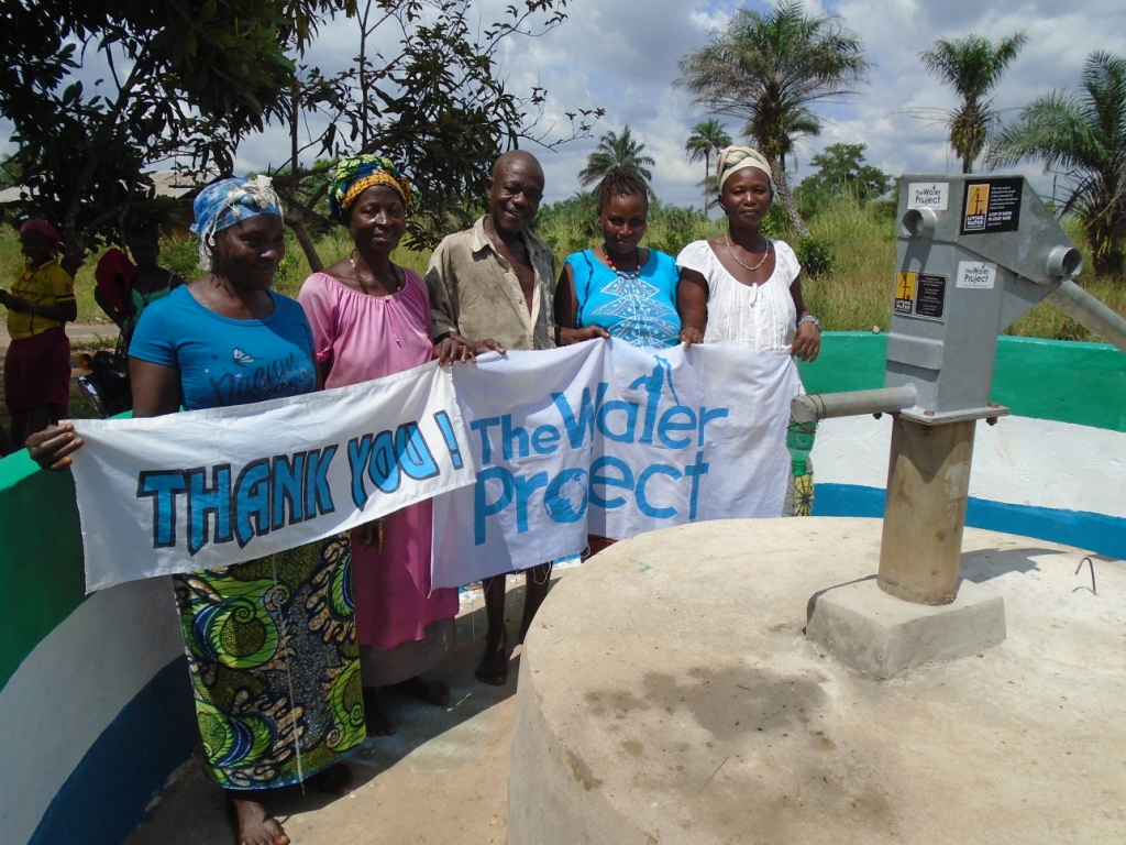 Photo of Kalie Town Crossing Well Rehabilitation Project