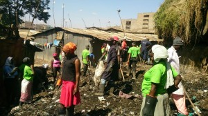 The Water Project : kenya-pamojamashimoni-25-nys-community-clean-up-2