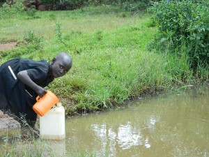 The Water Project : kenya4319-06-musidi-current-water-source