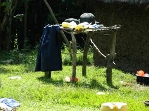 The Water Project : kenya4319-12-utensil-rack