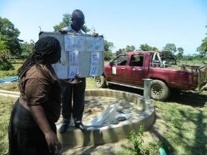 The Water Project : kenya4319-15-explaining-the-pocket-chart