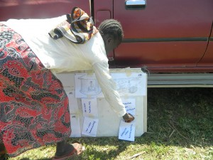 The Water Project : kenya4319-34-voting-on-the-pocket-chart
