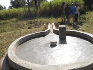 The Water Project : kenya4319-41-well-pad