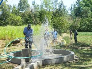 The Water Project : kenya4319-42-flushing-at-musidi-community