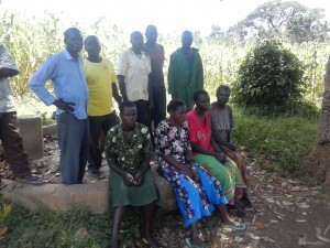 The Water Project : kenya4320-02-utende-committee-members