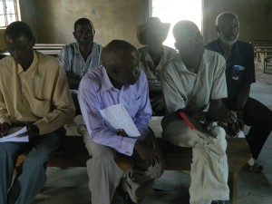 The Water Project : kenya4320-11-the-men-giving-an-ear-to-the-facilitator