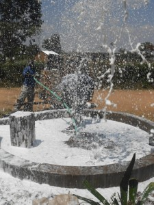 The Water Project : kenya4320-20-utende-borehole-flushing