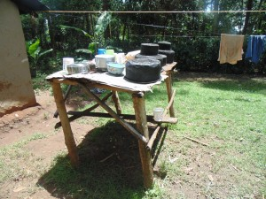 The Water Project : kenya4321-05-dish-rack