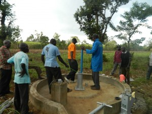 The Water Project : kenya4321-40-rising-main-pipe-installation