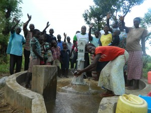 The Water Project : kenya4321-47-happy-face-of-mauna-community-members