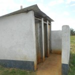 The Water Project: Shisango Secondary School -  Toilet