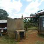 The Water Project: Shisango Secondary School -  Water Harvesting Tank