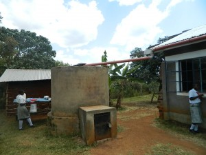 The Water Project:  Water Harvesting Tank