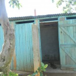 The Water Project: Mayungu Church Of God -  Toilet