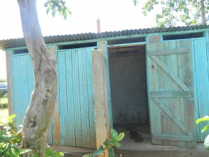 The Water Project : kenya4332-09-toilet