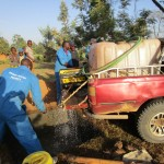 The Water Project: Mayungu Church Of God -  Drilling Of Emayungu Church Of God