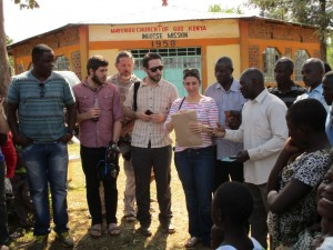 The Water Project:  Twp Team At Emayungu Church