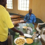 The Water Project: Mayungu Church Of God -  Food Served To Our Construction Team