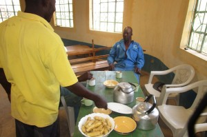 The Water Project:  Food Served To Our Construction Team