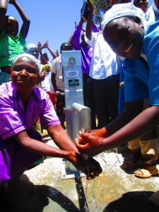 The Water Project:  Emayungu Church Of God Handing Over