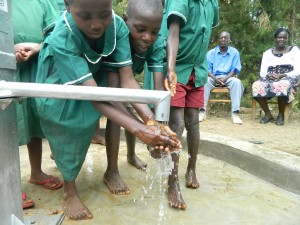 The Water Project : kenya4339-51-musidi-primary-school-handing-over-2