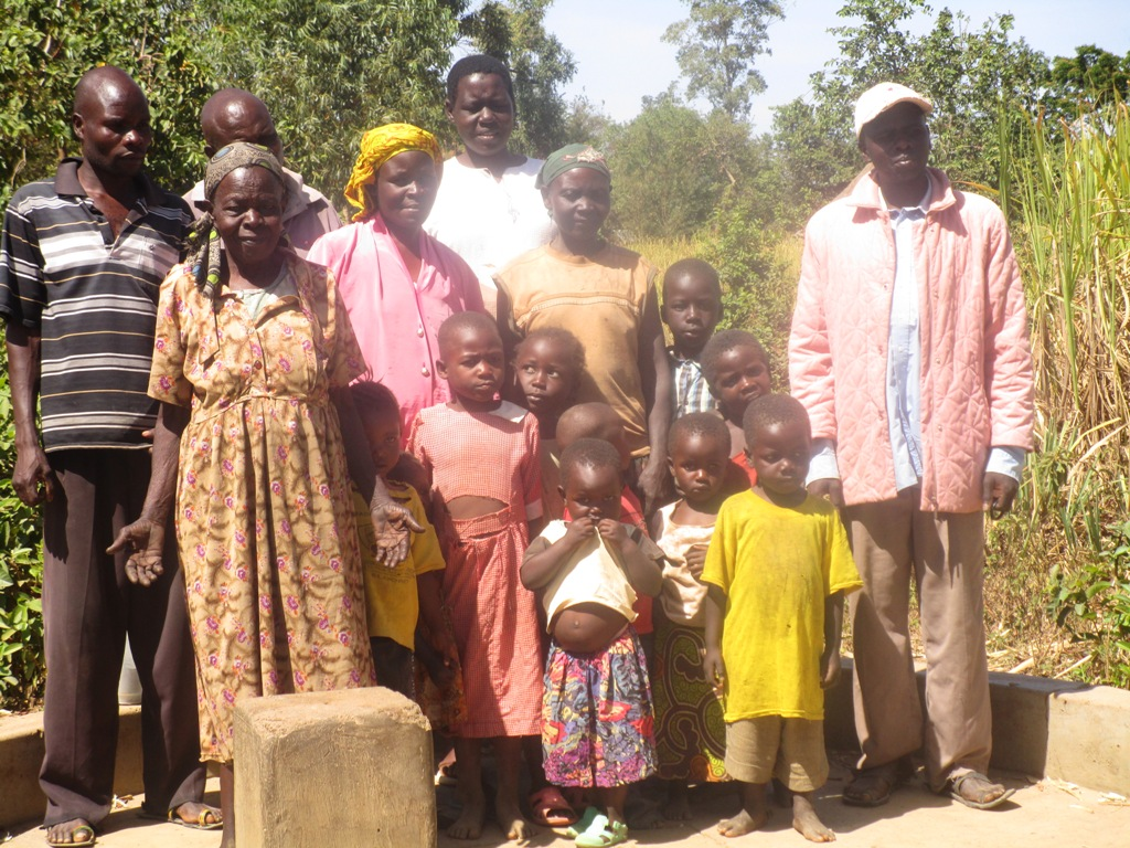 The Water Project : kenya4342-05-eshikumulo-community-members