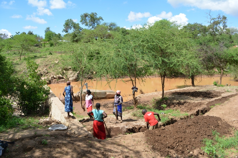 The Water Project : kenya4306-106-kakima-shallow-well